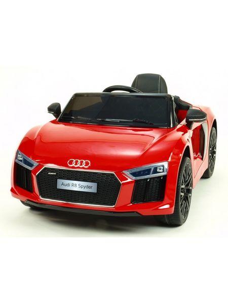 Audi R8 SPYDER Auto na akumulator Czerwony zdjęcie 1