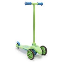 Little Tikes - Hulajnoga trójkołowa Twist and Roll - Zielono-niebieska 640117