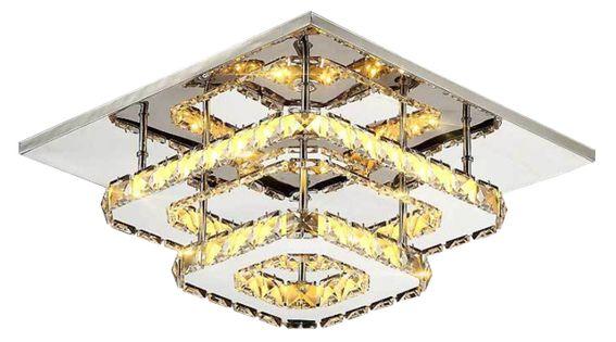 Lampa sufitowa PLAFON Kinkiet METEOR II LED 30cm x 30cm 33W