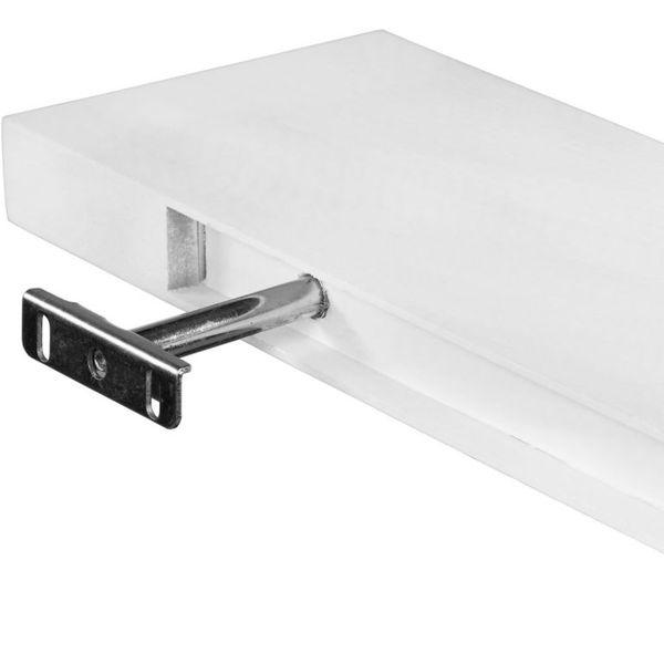 Stilista Półka ścienna Saliento Długość 50 Cm Kolor Biały M30872
