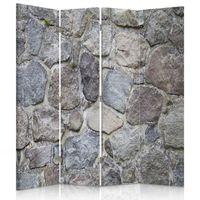 Parawan pokojowy, Kamienny mur 145x180