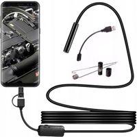 Endoskop kamera USB LED 5m