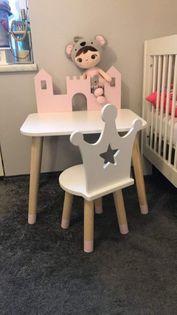 Krzesło krzesełko korona dla dzieci