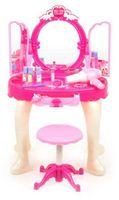 Emily - Toaletka dla Małej Księżniczki - dźwięki, światło, akcesoria, gniazdo MP3