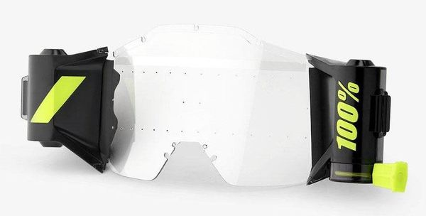 System Roll-Off do gogli 100% FORECAST FILM SYSTEM Roll-Off 45mm do ACCURI/STRATA kompletny zestaw (NEW)