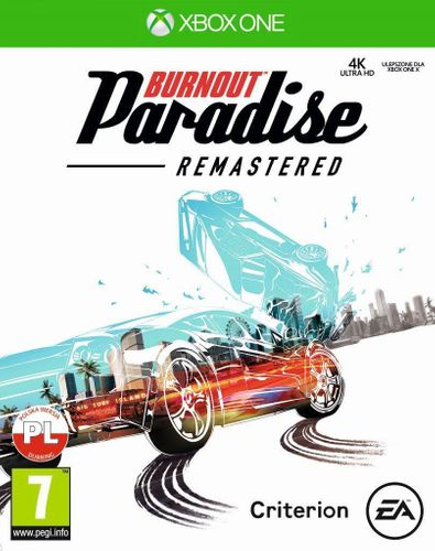 Gra BURNOUT Paradise Remastered (XBOX One) na Arena.pl