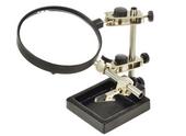TRZECIA RĘKA lupa 2,5x 9cm uchwyt montażowy ZD-10H