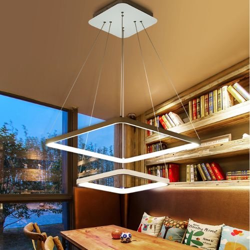 Lampa wisząca plafon FABIO II żyrandol Kinkiet LED 45W Wobako na Arena.pl
