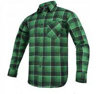 Koszula flanelowa MODAR zielona 42