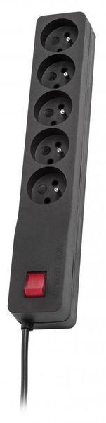 Listwa zasilająca Lestar ZX 510 3m czarna zdjęcie 1
