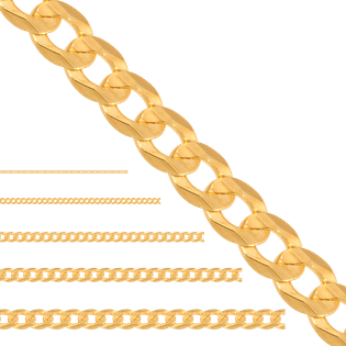50 cm łańcuszek pełny typu pancerka złoto 585/14k