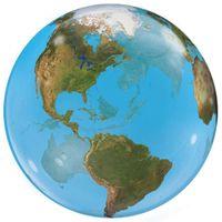 Balon foliowy KULA ziemska świat GLOBUS podróżnik