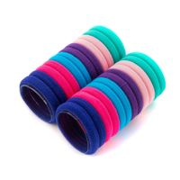 Komplet kolorowych gumek do włosów 24 sztuk