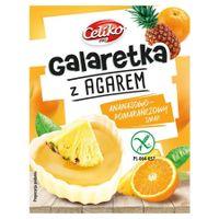 Galaretka Z Agarem O Smaku Ananas-Pomarańczowy Bez Glutenu Celiko, 45G