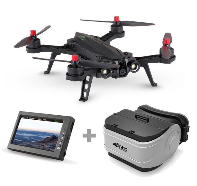 DRON WYŚCIGOWY MJX B6 BUGS BEZSCZOTKOWY  KAMERA+ LCD zdjęcie 1