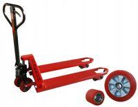 Wózek paletowy ręczny paleciak 2300 kg 1000 mm rolki poliuretan Zakrem