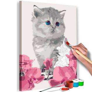 Obraz do samodzielnego malowania - Kociątko
