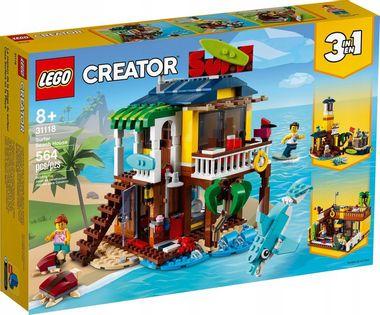 LEGO CREATOR Domek surferów na plaży 31118