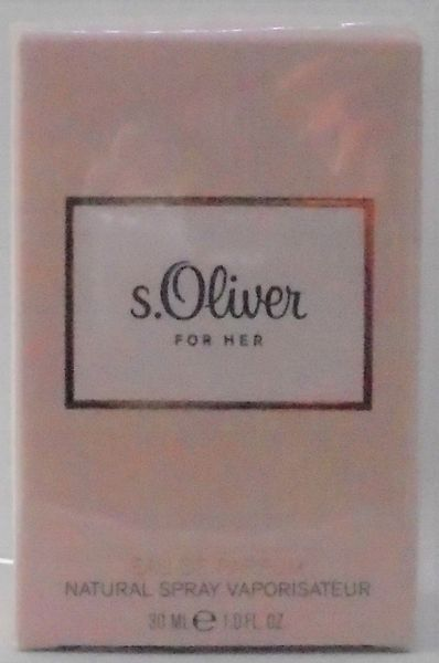 s. Oliver For Her woda perfumowana dla kobiet EDP na Arena.pl