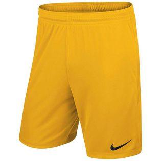 Spodenki dla dzieci Nike Park II Knit Short NB JUNIOR żółte 725988 739