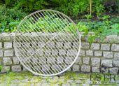 Ruszt do grilla ze stali nierdzewnej - okrągły 50 cm ES-ER