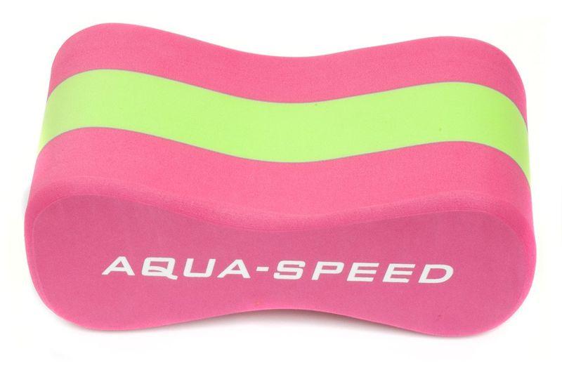"""Deska do pływania ÓSEMKA """"3"""" JUNIOR Kolor - Akcesoria - Ósemka """"3"""" Junior - 03 - różowy / zielony zdjęcie 3"""