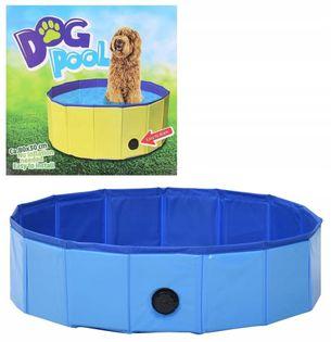 Basen dla psa kota zwierząt składany kojec 80x30 N