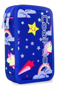 Coolpack Jumper 2 Piórnik Podwójny z wyp. Led Unicorns