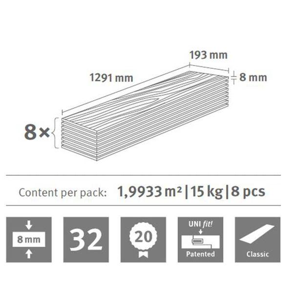 Egger Laminowane Panele Podłogowe 109,45 M², 8 Mm, Toscolano Oak Light na Arena.pl