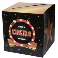 Pudełko na KOPERTY urodziny FILMOWE dla gości