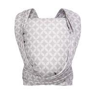 Chusta Zaffiro Be Close tkana splotem skośno-krzyżowym - mosaic grey