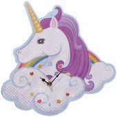 ZEGAR unicorn JEDNOROŻEC jednorożca tęczowy