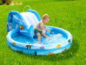 Dmuchany brodzik / basen dla dzieci ze zjeżdżalnią Infactory zdjęcie 3