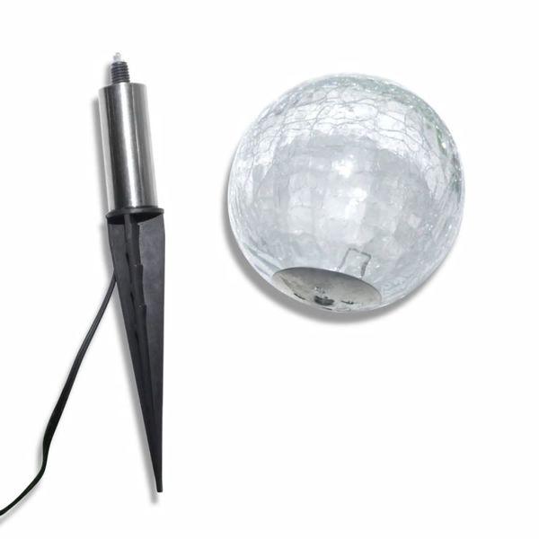 Lampy Ogrodowe Ze Szpikulcami I Panelem Solarnym, 3 Led zdjęcie 6