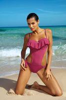 Kostium Kąpielowy Carmen Rose Pink M-468 (6) Rozmiar Xl
