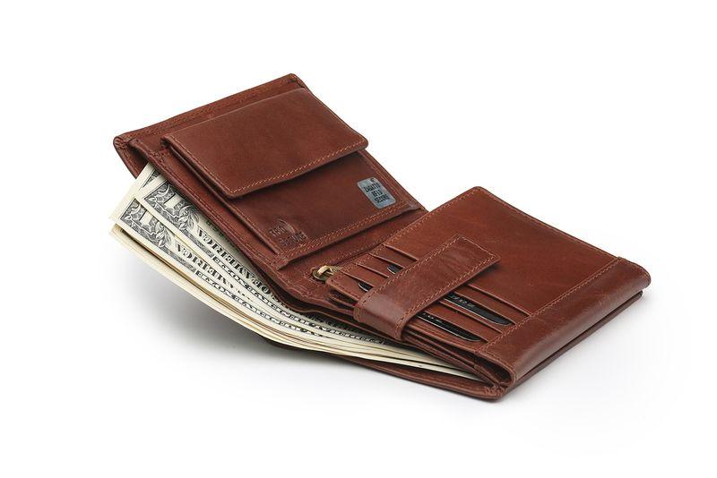 88ddfee899779b Portfel skórzany męski Zagatto z ochroną kart RFID BLOCK N104 GT zdjęcie 4
