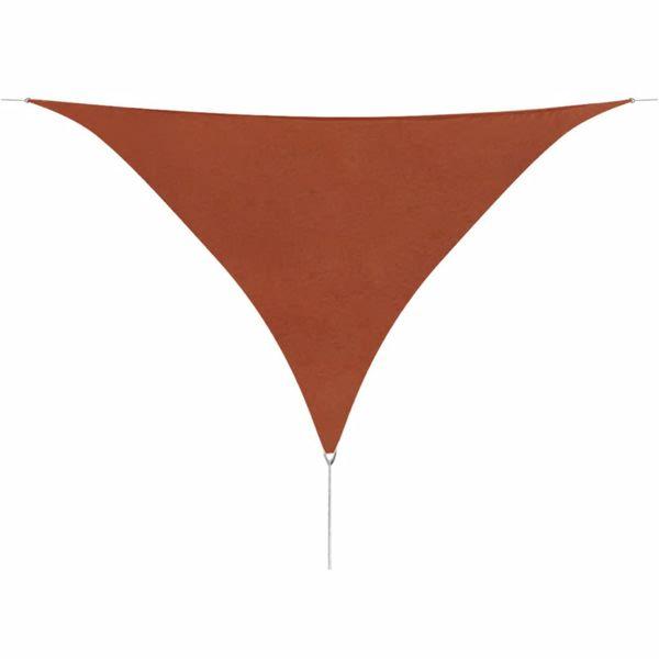 Żagiel ogrodowy z tkaniny oxford, trójkąt 3,6x3,6x3,6 m zdjęcie 1