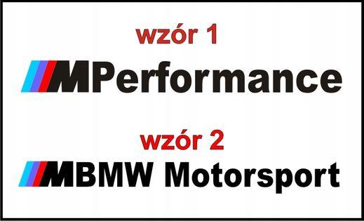 Naklejki BMW na klamkę M perfomance M POWER