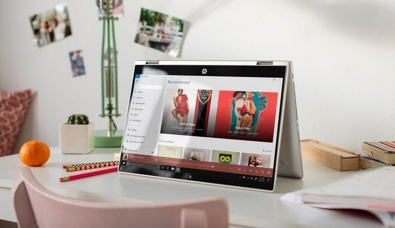 2w1 HP Pavilion 14 x360 Intel i3-8130U 1TB Win10 zdjęcie 16
