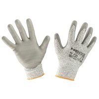 Rękawice Antyprzecięciowe Pokryte Pu, 4X43D, Rozmiar 10