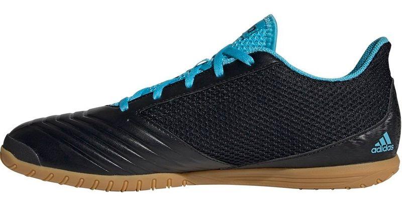 Buty piłkarskie adidas Predator 19.4 IN Sala czarno niebieskie F35631 44