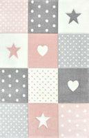 Uroczy dywan dla dzieci Pastel Kids miękki i gęsty 160x230cm