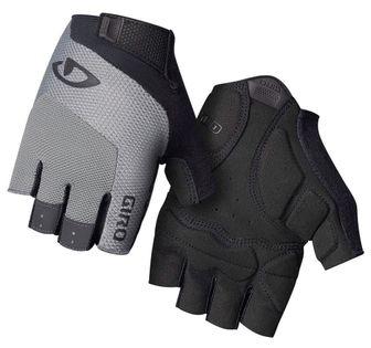 Rękawiczki męskie GIRO BRAVO GEL krótki palec charcoal roz. XXL (obwód dłoni od 267 mm / dł. dłoni od 211 mm) (NEW)