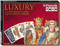 Piatnik Karty Luxury 2 talie