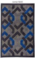 Dywan Dark Chains 115x170 Nature Collection czarny grafit niebieski