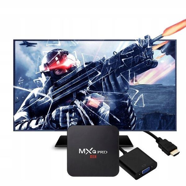 TV BOX MXQ PRO S905x Android 7 SMART 4K 2GB RAM zdjęcie 10
