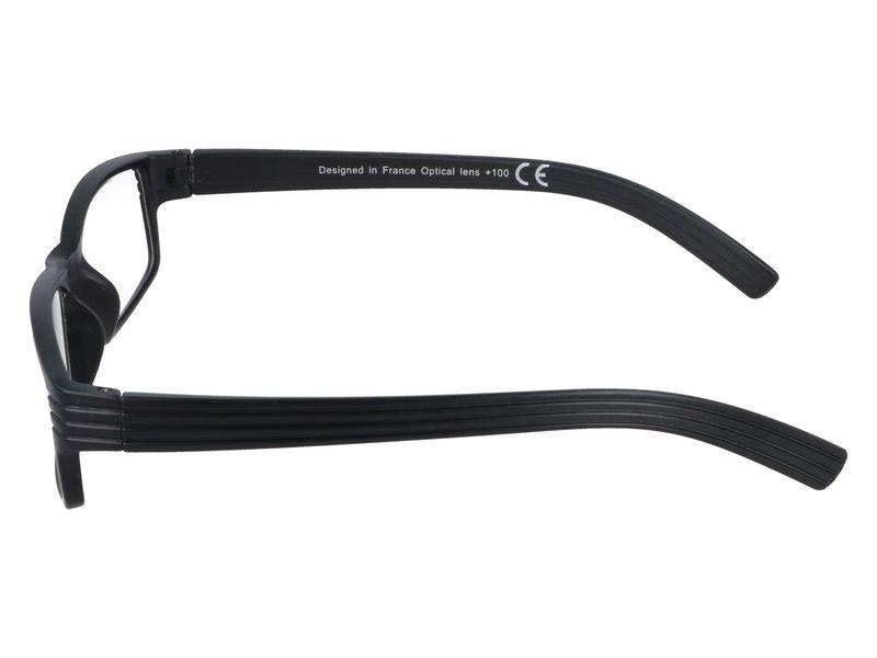 Korekcyjne okulary do czytania czarne plusy +1.00 zdjęcie 5