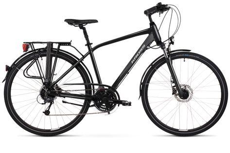 """Kross Trans 5.0 M 28 19"""" czarny/szary połysk rower12"""