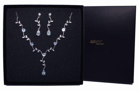 Komplet ślubny MUHER silver KOKONET 8-0281