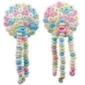 Cukierkowe NASUTNIKI nakładki na piersi cukierków